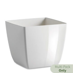 Kyle Square planter in white