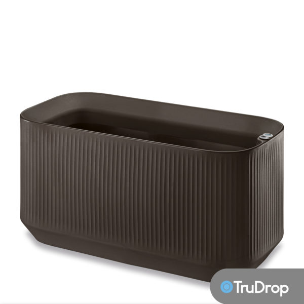mod large trough in bark brown