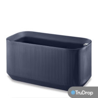 mod large trough in midnight blue